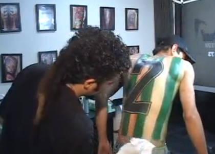 Hincha de Nacional de Medellín se tatuó la camiseta