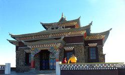 Contenido de la imagen El Templo Budista