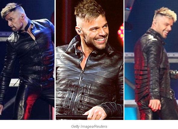Ricky Martin Con Inusual Corte De Pelo