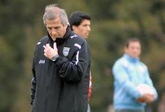 Seleccion Uruguay : Retoma entrenamientos