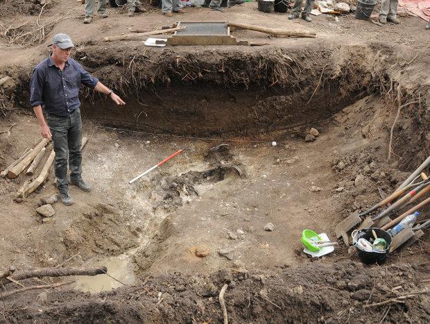 El Batallón 14 en 2011, cuando se hallaron los restos de Julio Castro.