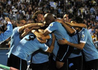 Los cuatro goles de Suarez