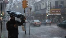 Advertencia Amarilla para todo el país por tormentas y lluvias