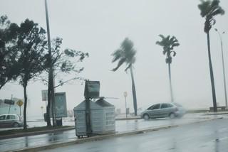 Dos trabajadores heridas por el temporal en Punta del Este