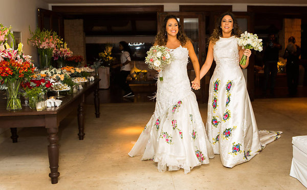 Daniela Mercury se caso con la periodista Malu verçosa