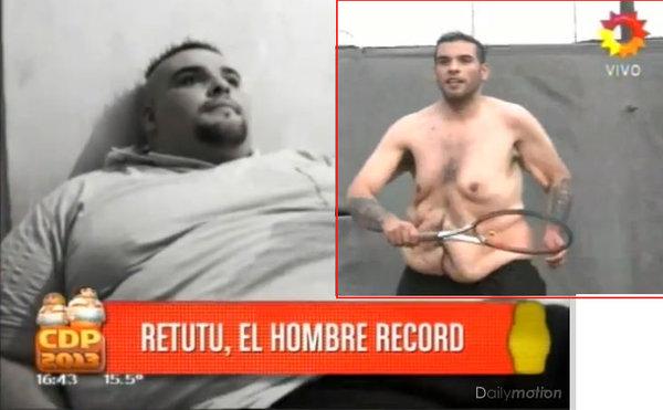 El aumento de peso al adelgazamiento