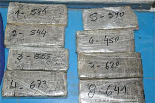 Cerro Largo: Policía incautó 116 kilos de marihuana