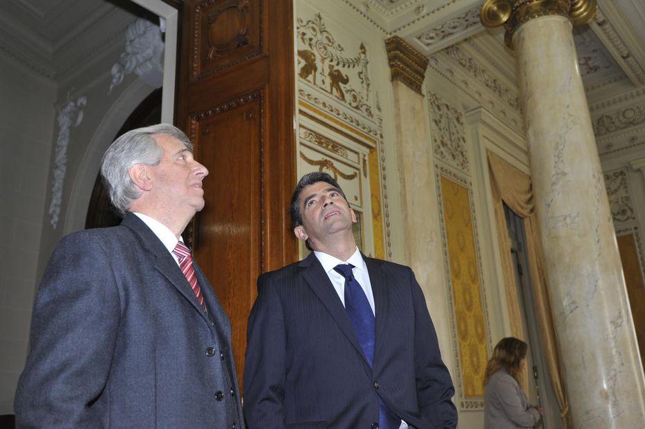 Presidente Vázquez desmiente la versión de Sendic que no había presentado renuncia