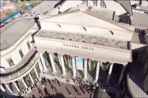 Montevideo a vuelo de drone
