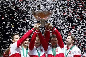 Copa Davis: Suiza campeón