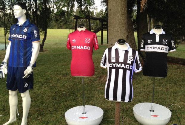 Nuevas camisetas Umbro de Montevideo Wanderers