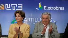 Rousseff y Mujica inauguran Parque Eólico