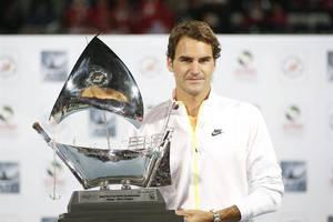 Federer campeón en Dubai