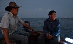 Contenido de la imagen Pesca del Camarón en las lagunas de Rocha