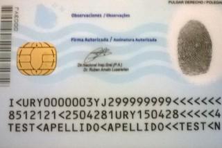 Amato destacó seguridad de documento de identidad