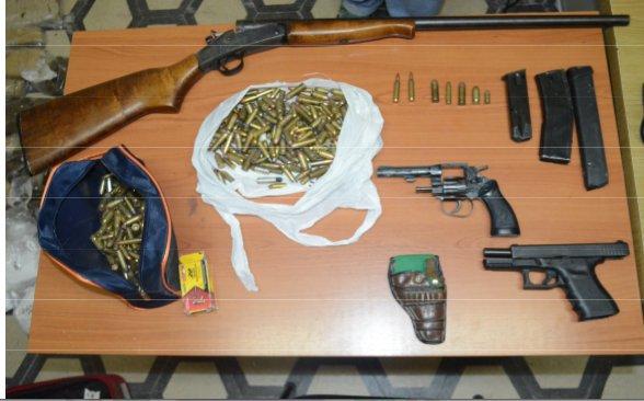 Armas y drogas incautadas en procedimiento del ministerio for Portal del ministerio del interior