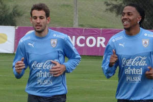 Uruguay cumplió segundo día de práctica