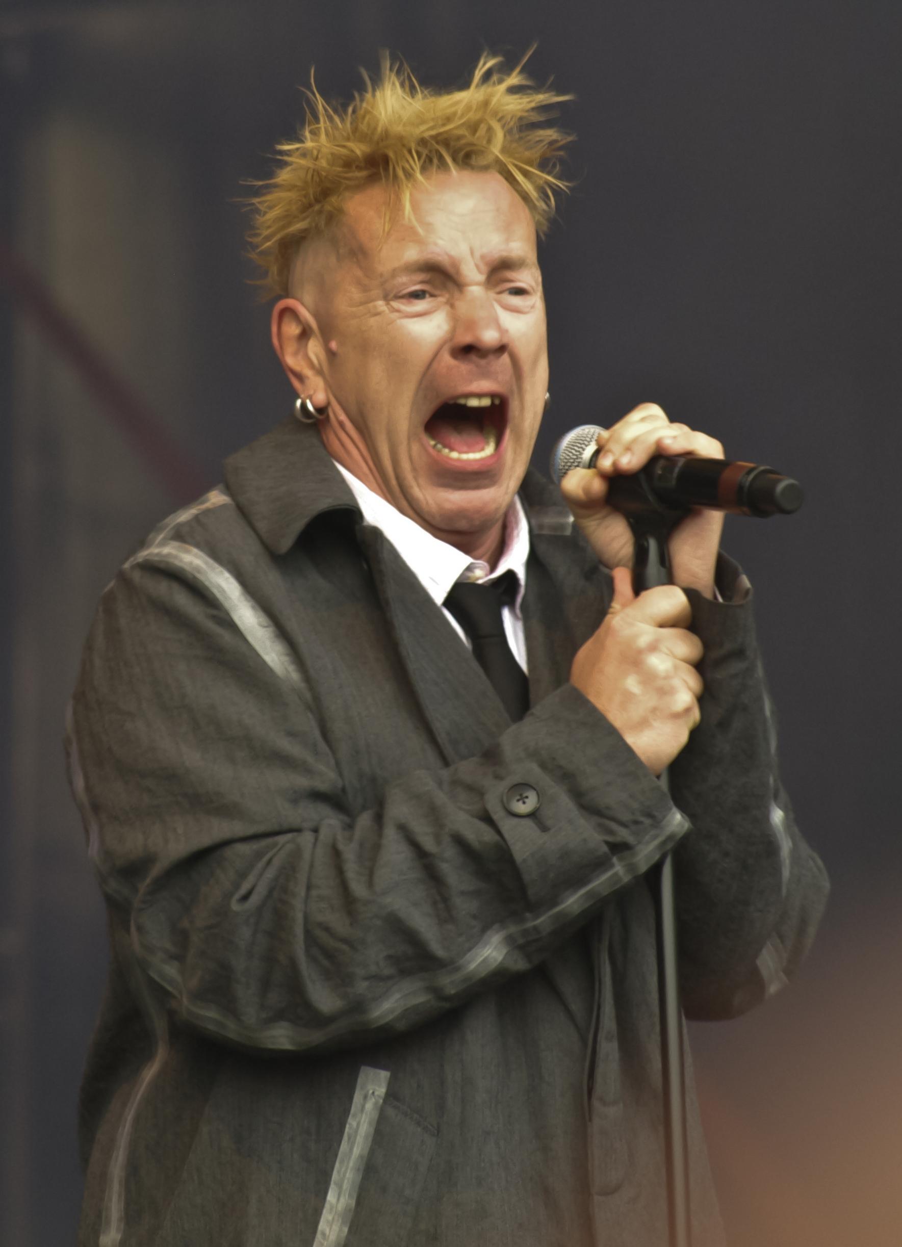 Johnny Rotten Jay Z