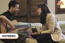 """EN EL CARROUSEL, Juan Quintero, Guitarrista y Compositor de Tucumán, canta con Vera Spinetta """"Tonada de los compañeros""""."""