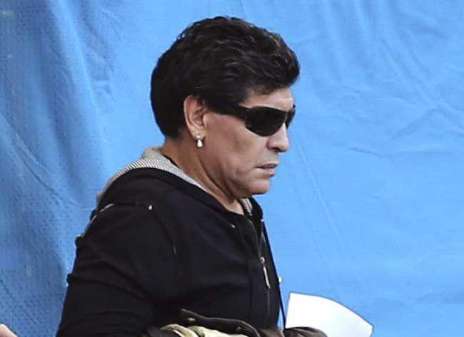 Maradona pidió manifestarse por Maldonado