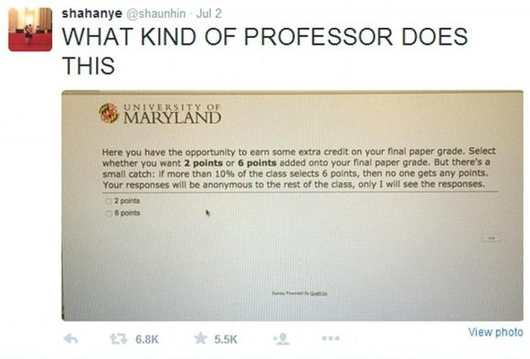 how to ask professor to review exam