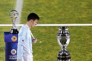 Messi no quiso recibir el premio a mejor jugador