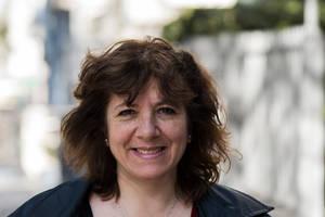 Con Lucía Flores, escritora uruguaya radicada en Canadá