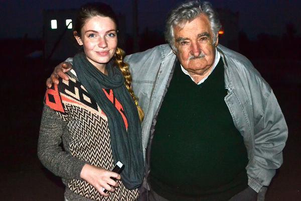 Universitaria cruzó el continente en busca de Mujica
