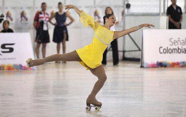 Valentina Blengio en acción