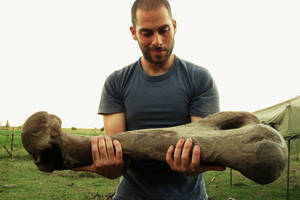 Conversamos con el paleontólogo Richard Fariña