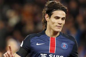Francia: gol de Edinson Cavani para el PSG, que goleó 4-1 al Troyes