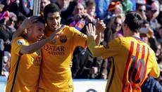 Liga de España: Barcelona ganó 2-0 al Levante. Luis Suárez marcó el segundo.