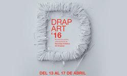 Contenido de la imagen Drap-Art Uruguay '16 en el Atrio de la Intendencia de Montevideo