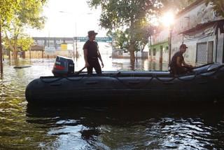 Impactante imagen satelital revela impacto de inundaciones