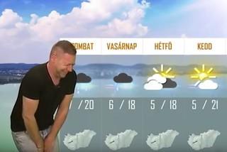 Despiden a meteorólogo de televisión por fingir tirarse gases en directo