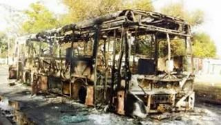 El relato del conductor del ómnibus incendiado en el Marconi