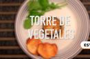Torre de vegetales en un minuto