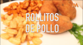 IDEAS AL PLATO: Rollitos de pollo