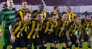 Peñarol derrotó 2-1 a Lanús en Buenos Aires en nuevo amistoso internacional
