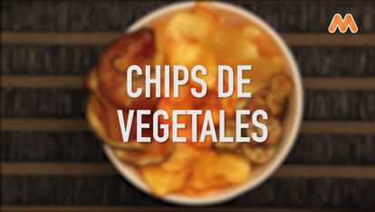 IDEAS AL PLATO: Chips de vegetales