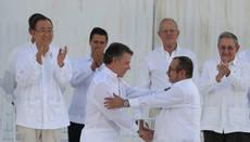 El Gobierno de Colombia y las FARC firmaron acuerdo de paz