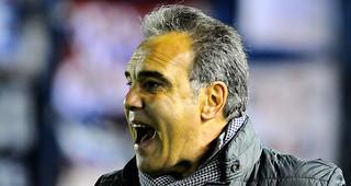 """""""Hoy era ganar y romper la racha negativa"""", señaló Martín Lasarte"""