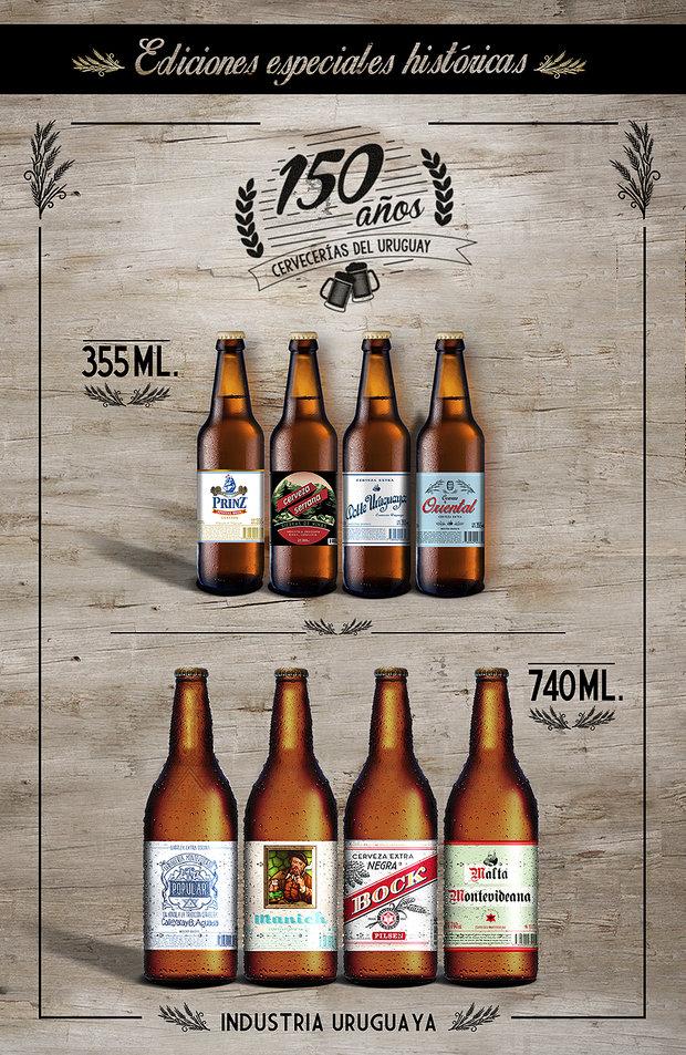 La cerveza celebra su 150º aniversario con ocho ediciones especiales ...