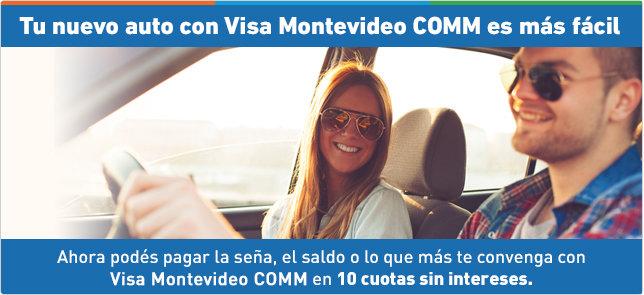 imagen del contenido Tu nuevo auto con Visa Montevideo COMM es más fácil