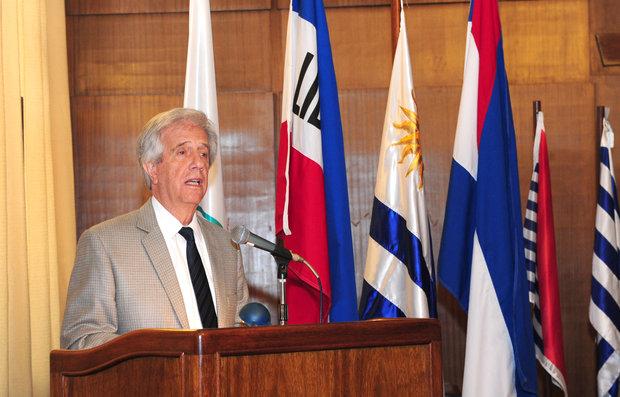 Presidente de Uruguay inicia en España gira europea