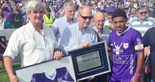 Nico Olivera se despidió ante su gente en el Estadio Luis Franzini