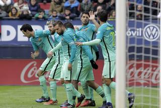 España: Barcelona derrotó 3-0 al Osasuna con un gol de Luis Suárez en El Sadar