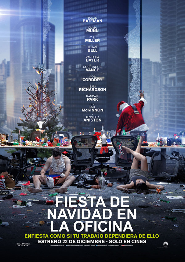 Mir el nuevo tr iler de la comedia 39 39 fiesta de navidad en for Fiesta en la oficina