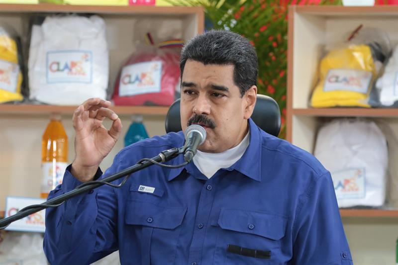 Maduro acusa a la oposición de emprender plan de violencia golpista