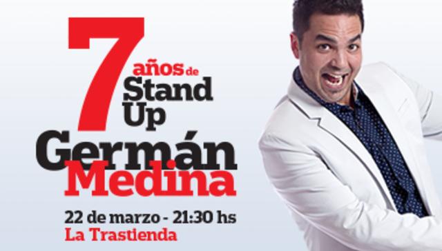 Germán Medina en La Trastienda